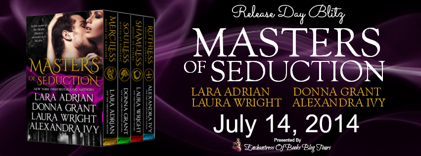 Masters of Seduction Release Day Blitz Banner