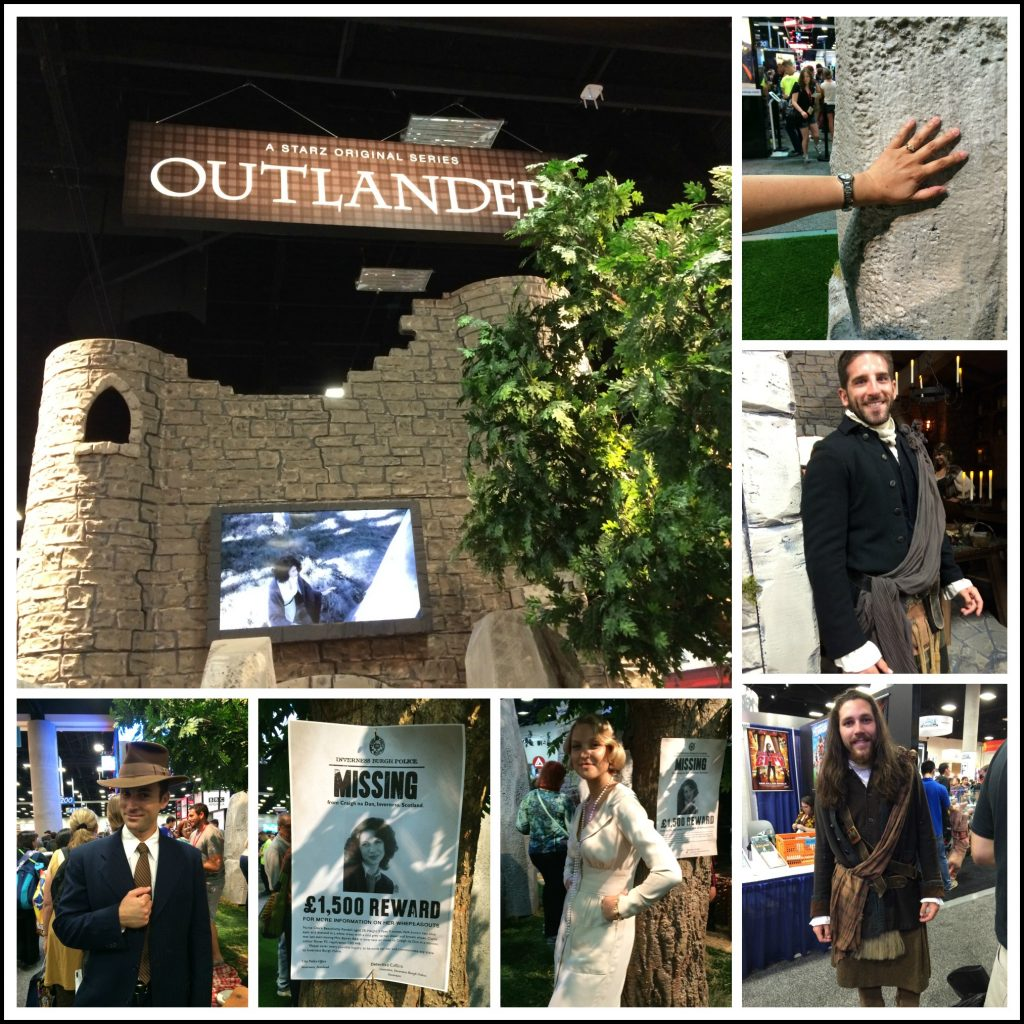 Outlander Booth CC2014