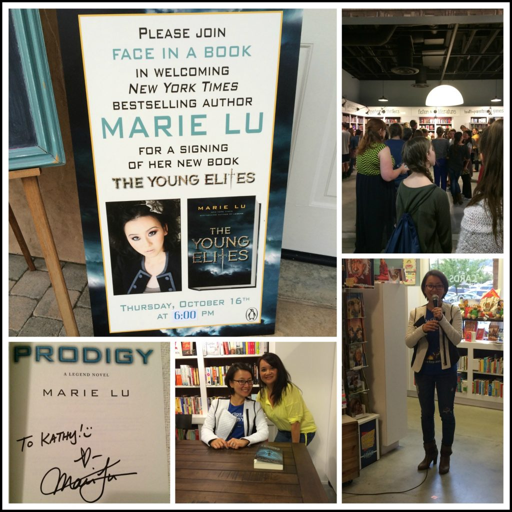 Marie Lu Collage