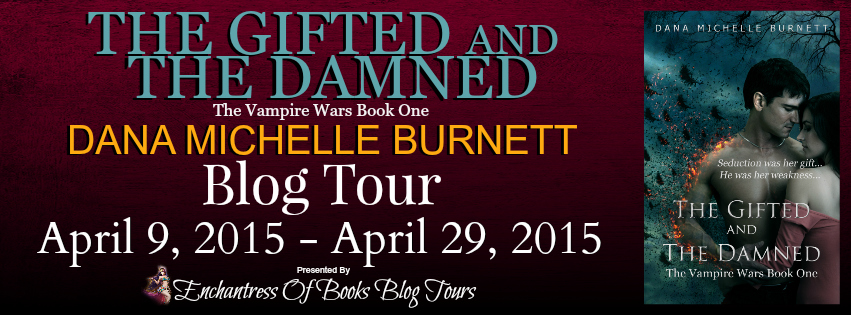 The Gifted and the Damned Blog Tour Banner