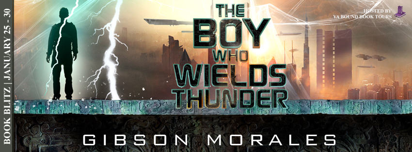 The Boy Who Wields Thunder blitz banner