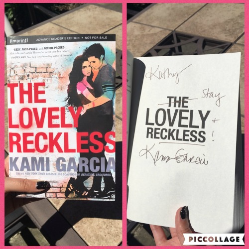 Lovely Reckless signed