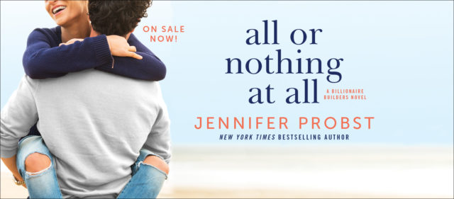 All or Nothing at All Blog Tour - Review