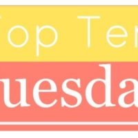 Top 10 Tuesday – Books I really liked but can't remember anything/much about
