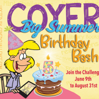 #COYER Big Summer Birthday Challenge Wrap-Up